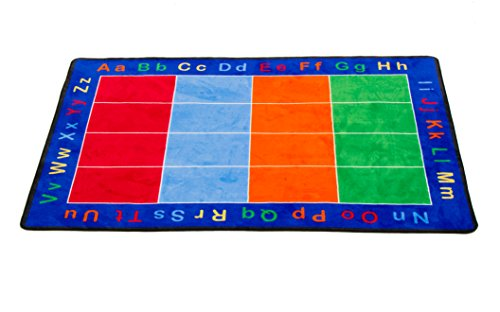 Childrens Factory ABC Squares Learning Carpet