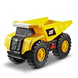 Cat Construction Tough Machines Toy Dump Truck with Lights & Sounds, Yellow