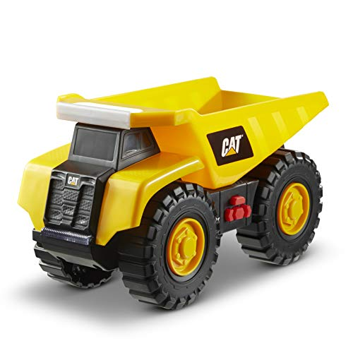 Caterpillar- Dump Truck Camión volquete Tough Machine, Color Amarillo (Funrise International 82285)