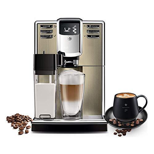 Qinmo Fabricante de café Helado, Doméstico Máquinas de café, café Máquinas de café Ministerio del Interior Italiano automático Máquina de café con Recipiente for Leche Sistema de expansión automática