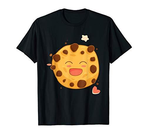 Schokolade Chip Keks Emoji Geschenk zu Weihnachten T-Shirt