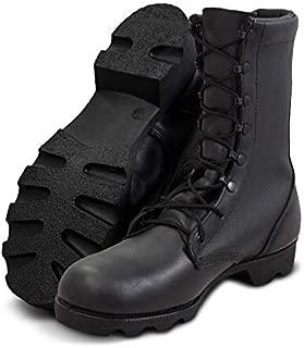 "Altama Men's 10"" Leather Combat Boot | Slip and Water Resistant Tactical Footwear"