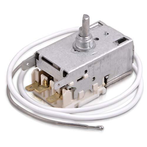 Thermostat Kühlthermostat Ersatz für Liebherr 6151097 Ranco K59-L2622 Miele 1677710 3 x 4,8 mm AMP für Kühlschrank/Gefrierschrank Temperatur Regler Ersatzteil