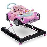Best Walkers For Babies - Delta Children First Race 2-in-1 Walker, Pink Review