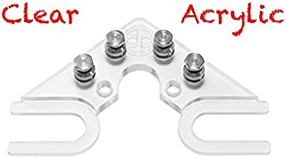 The String Butler V3 Guitar Tuning Improvement Device - Best Guitar Upgrade to Improve Tuning Stability (V3 Clear Acrylic)