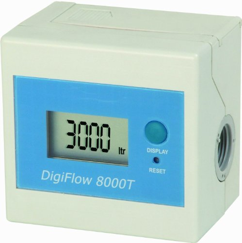 Filter capacity flow meter for water, 3/8 NPT by Bell Flow Systems