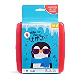 Fit & Fresh Cool Coolers Slim Reusable Ice Packs for Lunch Boxes,...