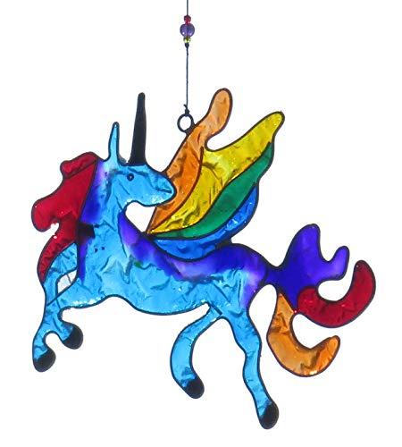 Purity Style Regenbogenfarbener Einhorn-Sonnenfänger