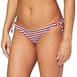 Sylvie Flirty Swimwear Damen Bikinihose Bayina, Rot (Red/White Stripes 4300), 40