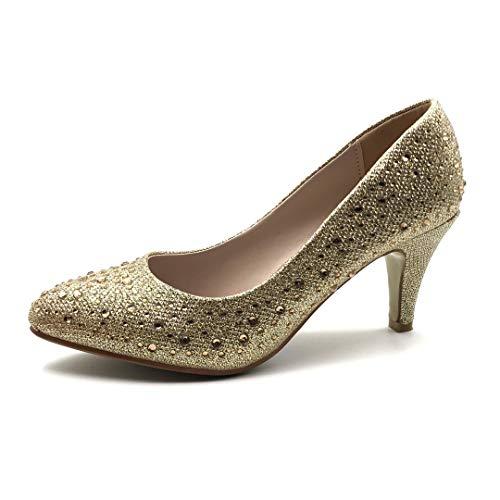 Angkorly - Chaussure Mode Escarpin Petits Talons...