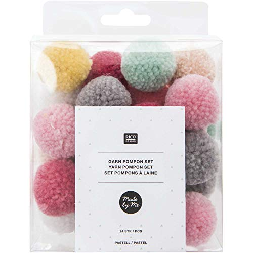 Pompon-Set - Pastell Mix - aus Ricorumi for Babys