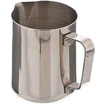 espumador de leche acero inoxidable Leche r/ígida para 100/ml caf/é Jarra hogar artesan/ía para leche Latte capuchino Moca Joy Feel buy Jarra de leche