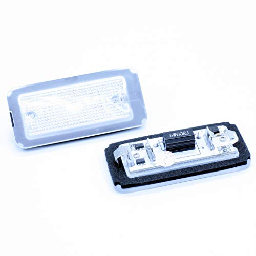 2 luci per targa a LED Canbus F. 500/595/695 500C 595C 695C 312 C
