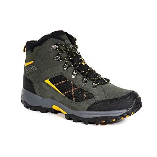 Regatta Herren Clydebank Walking Shoe, DkKhaki/Gold, 41 EU