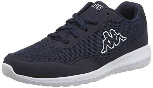 Kappa Unisex-Erwachsene Follow Sneaker, Blau (6710 Navy/White), 41 EU
