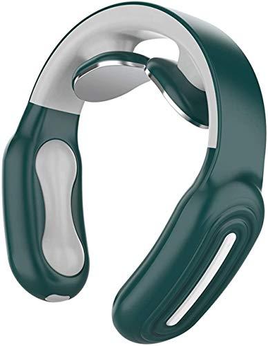 Masajeador de cuello multifunción, alivio del dolor de espalda y espalda con función de calor, masaje para músculos para casa, oficina, coche, diseño portátil inteligente, regalo cálido 2
