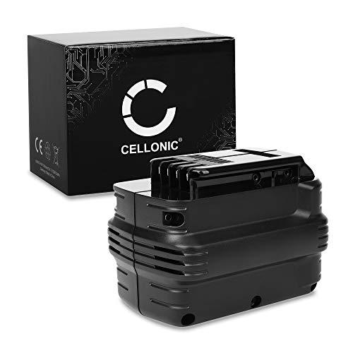 CELLONIC Batería Premium 24V, 3Ah, NiMH Compatible con Dewalt DW004, DW007, DW005, DC222, DC222KA, DC223 bateria de Repuesto DE0240, DE0243, DE0241, DW0240, DE0240-XJ,DW0242 Pila