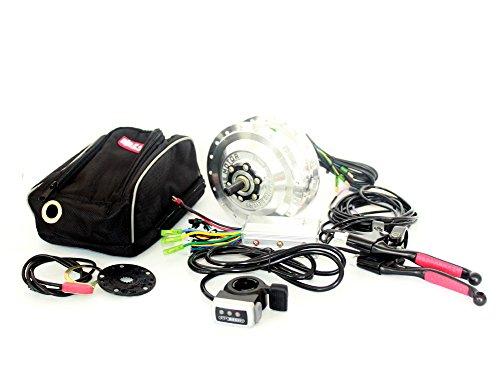 24v36v48v 250W Bicicleta electrica de traccion Delantera Kit youe bruhsless Kit del...