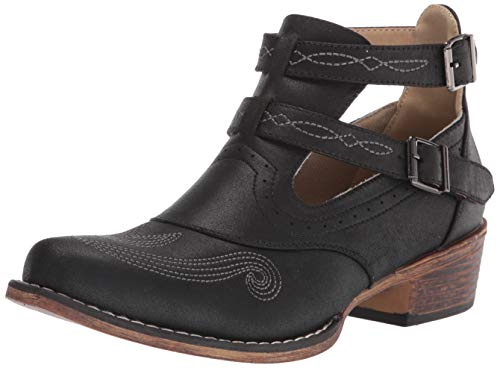Roper womens Western Boot,Black,9.5
