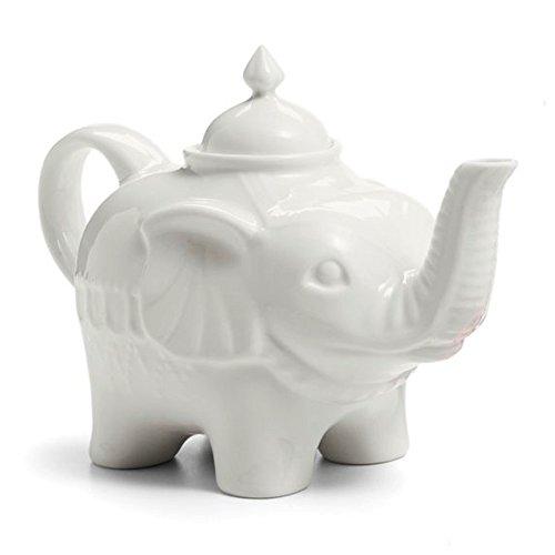 Elephant Porcelain Teapot 28 oz.