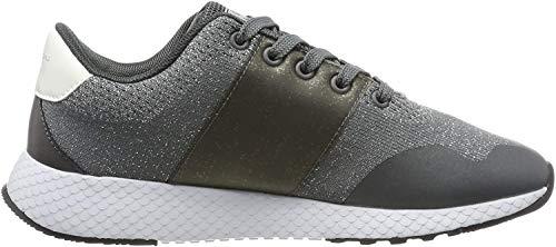 Pepe Jeans London Damen KOKO Sandy Sneaker, Grau (Smoke 926), 39 EU