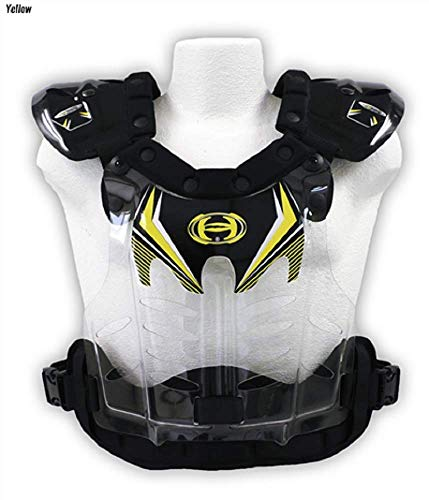 HRP Flak Jak IMS Chest Protector Large (145-190 lbs) Yellow, Standard