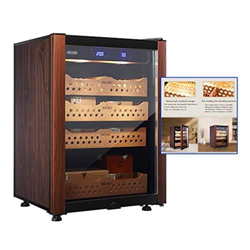 Konstante Temperatur- und Luftfeuchtigkeitszigarrenschrank intelligentes Haushalt mit doppeltem Kühlschrank Kühlschrank feuchtigkeitsspendender Zigarrenschrank