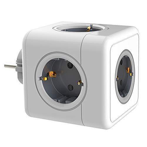 Anyutai, steckdosenwürfel Ladegerät, 5 Löcher 250V 16A Power Cube würfel