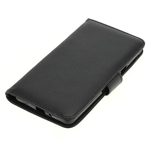 Handy Tasche Hülle Book für Coolpad Modena 2 / Handytasche Schutzhülle Etui schwarz