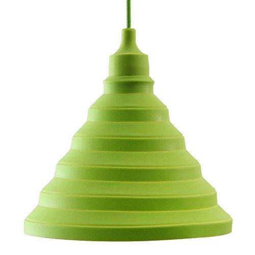 LIVING by colors Lampenschirm aus Silikon FLEX SILICONE PENDANT LAMP Grün
