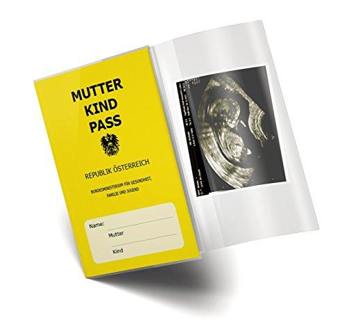Mutter-Kind-Pass Hülle 3-teilig transparent MuKi Pass Schutzhülle Blanco (glanz, Österreich 1 Stk.)