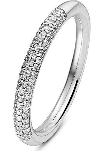 CHRIST Diamonds Damen-Damenring 61 Diamant 54 Weißgold 32012256