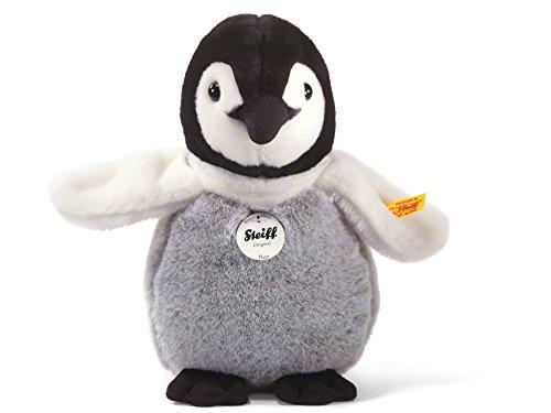 Steiff 057090 Flaps Pinguinbaby 20 stehend Pinguin, SCHWARZ/WEIß/GRAU