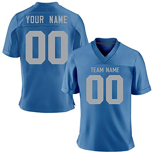 Custom Stitched Football Jerseys for Men/Women/Boys,Design Your Own Personalized Jersey of Team Name and Number