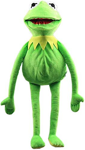 NZH Frog Plush Muppet Doll Show - Doll Show Muppet Puppet Sweet Doll for Children Green