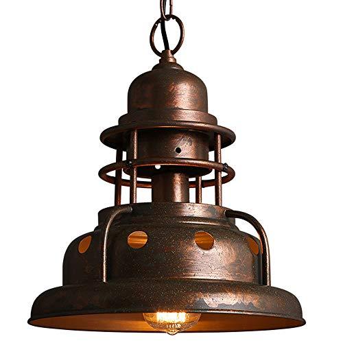 Suspension en métal pour salle à manger ou salle à manger - Style archaistique industriel - 30,5 cm
