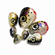 Summer Starter Pack -- Fish Heads for Fly or Spin Rod Fishing Lures by Drop Jaw Flies