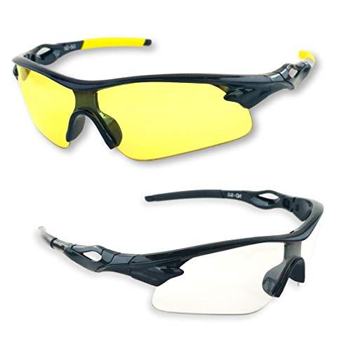iLumen8 BEST Shooting Glasses UV Blacklight Yellow Vision...