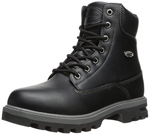 Lugz mens Empire Hi Wr Winter Boot, Black/Charcoal, 9 US