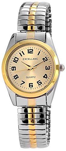 Excellanc Damen-Armbanduhr XS Analog Quarz Verschiedene Materialien 170014500018