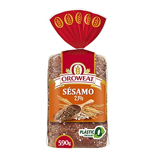 Oroweat semillas de sesamo y lino 590g