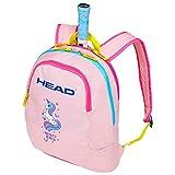Head Kids Backpack Bolsa para Raquetas de Tenis, Infantil, Rosa Claro/Amarillo, Talla única