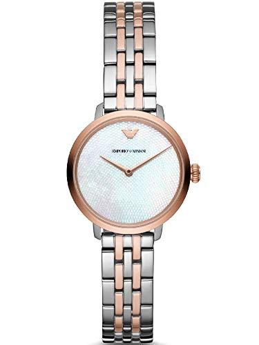 Emporio Armani Womens analoog quartz horloge met roestvrij stalen band AR11157