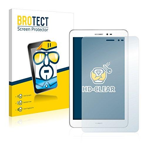 BROTECT Protector Pantalla Compatible con Huawei MediaPad T1 8.0 Protector Transparente (2 Unidades) Anti-Huellas