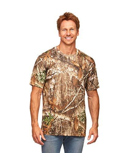 Realtree Edge Camo Light Weight Performance Men's Short Sleeve Shirt (X-Large)