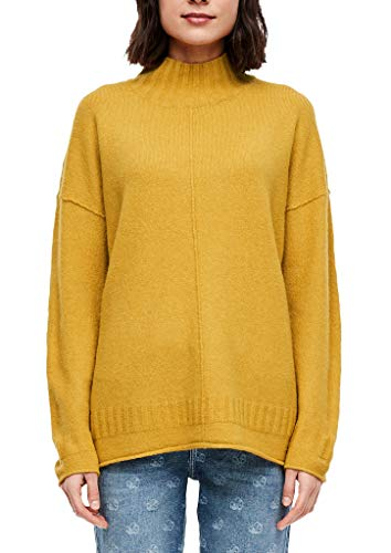 s.Oliver Damen Pullover senf 36 (S)