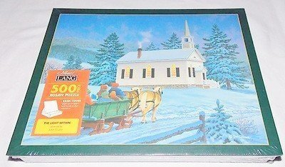 Lang Easel Cover 500 Piece Puzzle - The Light Within Artwork by John Sloane