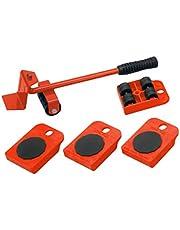 Meister Transportrollerset, 150 kg draagvermogen, anti-slip coating, voor het moeiteloos verplaatsen van meubels, verhuizingshulp