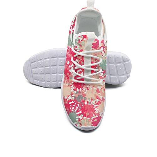 ERSER Splash Abstract Graffiti Spray Paint Womens Brooks Running Shoes Size 10 Size
