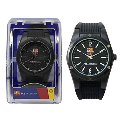 Seva Import Barcelona Reloj, Unisex-Adult, Negro, Talla Única